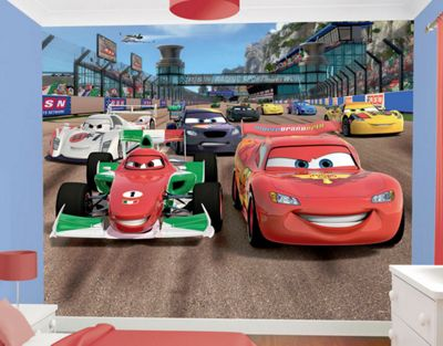 Awesome Disney Cars Wall Mural Awesome Design