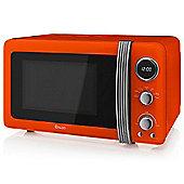 Swan SM22030ON Digital Microwave - Orange