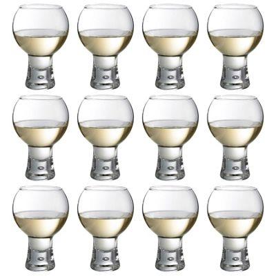 Durobor Alternato Short Stem Wine Glass - 330ml - Pack of 12 Glasses