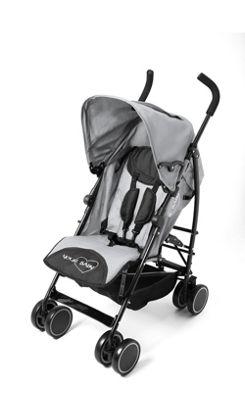 Your Baby - California Baby Buggy/Pushchair Grey & Parasol Black.