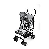 Your Baby - California Baby Buggy/Pushchair Grey & Parasol Black.