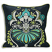 Riva Home Opulence Ink & Teal Cushion Cover - 45x45cm