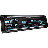 Kenwood In Car Stereo-CD-Receiver │DAB+│FLAC│USB│Aux│Bluetooth│iPod-iPhone-Android│Illumination│KDC X7200DAB