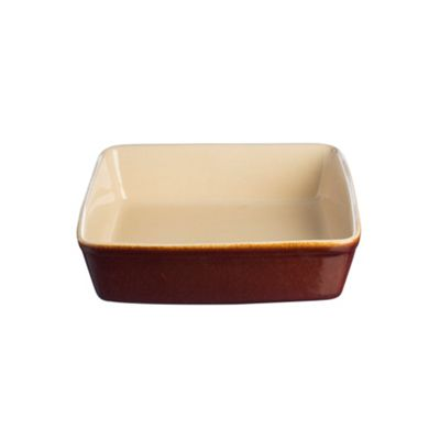 Mason Cash Harvest Baker Dish, Square Glazed Surface, 24cm