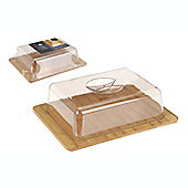 Bamboo Cheese Board With Dome