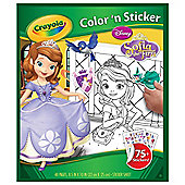 Crayola Disney Sofia The First Colour and Sticker Book