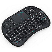 Rii i8 Mini 2.4Ghz Wireless Keyboard Touchpad With Mouse For PC PS4 Smart TV with Backlit LED - R164796