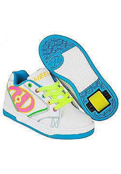 Heelys Propel 2.0 /Neon Multi Kids Heely Shoe UK 3 - White
