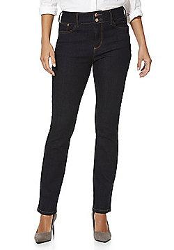 F&F High Rise Slim Fit Jeans - Indigo