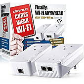 Devolo dLAN 1200+ Wi-Fi AC Powerline Starter Kit
