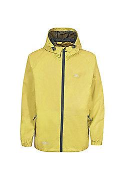 Trespass Boys Qikpac Waterproof Packaway Jacket - Yellow