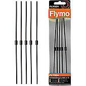 Flymo Garden Vacuum Shredder Lines - Pack of 5 - FLY024