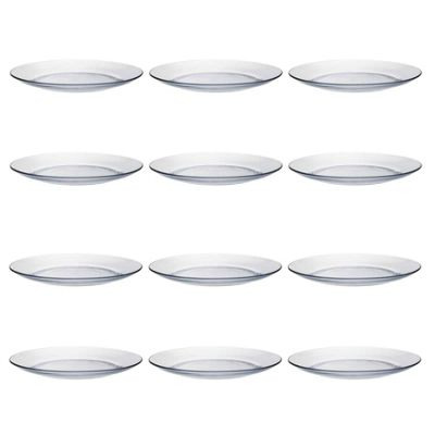 Duralex Lys Dinner / Food Serving Plates - 235mm - x12