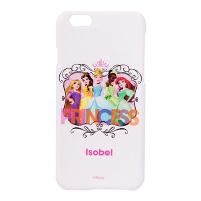 Disney Princesses Personalised White iPhone 6 Cover