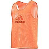 adidas Mesh Football Training Tank Top Sports Bib Various Colours - Orange