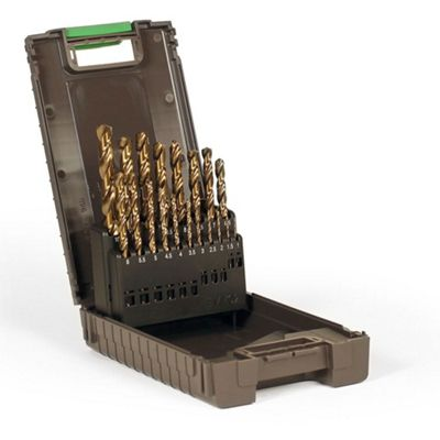 Reisser HSS Cobalt Drill Set (19Pc) 1.0-10.0mm