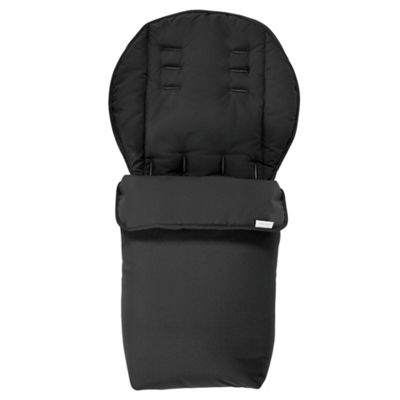 Mamas & Papas 2 in 1 Pushchair Footmuff, Black