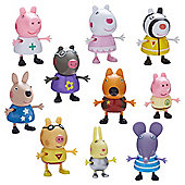 Peppa Pig 06668 Dress-Up 10-Figure Pack
