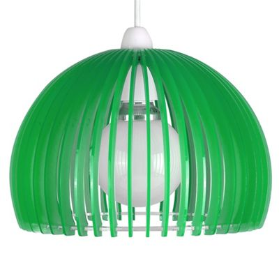 Hablatt Semi Transparent Ceiling Pendant Light Shade, Green