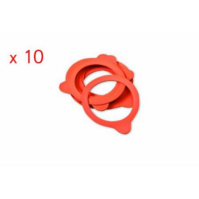 10 x Weck Jar 80mm Rubber Seals / Rings