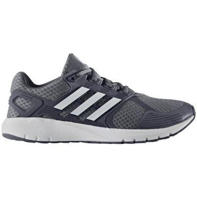 adidas Duramo 8 Mens Neutral Running Trainer Shoe Grey - UK 7.5