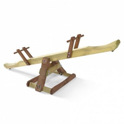 Plum Premium Wooden See saw