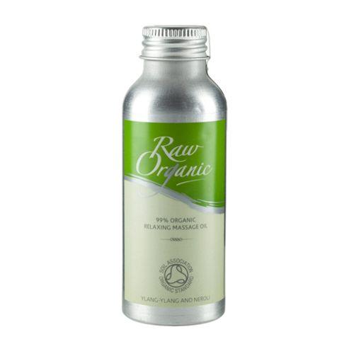Raw Organic Relaxing Massage Oil [SOS ETA TBC] (100ml Oil)