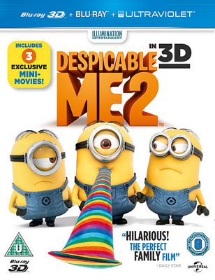 Despicable Me 2 Bluray Disc 3