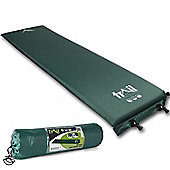Trail 5cm Single Self-Inflating Camping Mat - Green