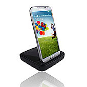 time2 Samsung S3/S4 Black Docking Stand