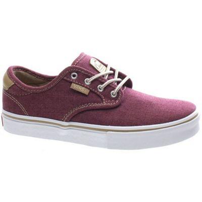 Vans Chima Pro (Oxford) Burgundy Kids Shoe XKZDM7