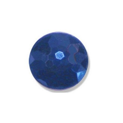 Impex Navy Faceted Shank Buttons 18mm 10pk