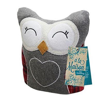 a'la Maison Owl Weighted Doorstop 22cm