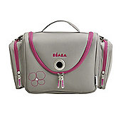 Beaba Vanity Changing Bag - Grey and Pink