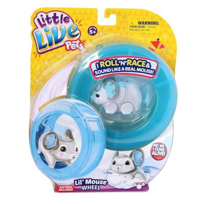 Little Live Pets Mice - Lil Mouse Wheel Pack - Wonder Wings