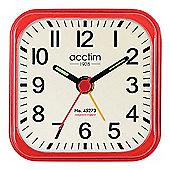 Acctim 14994 Malden Clock - Red