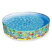 Intex 6ft wide x 15 inches Snapset Paddling Pool