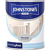 Johnstone's 303882 Non-Drip Gloss Paint - Dove Grey 0.75 litre