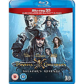 Pirates Of The Caribbean - Salazars Revenge 3D Blu-ray