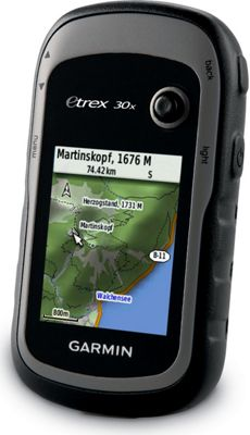 Garmin 010-01508-14 eTrex 30x Outdoor Handheld GPS-GLONASS WestEU TopoActive WorldwideBasemap