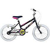 "Freespirit Lily 16"" Wheel Pavement Bike Black"
