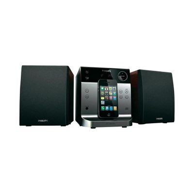 DCM129 4W Micro CD HiFi System with iPod Dock in Black