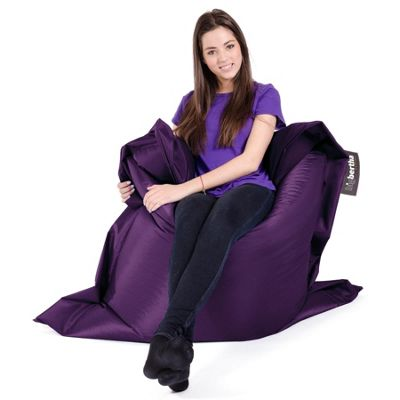 Big Bertha Original™ Indoor / Outdoor Junior Bean Bag - Purple