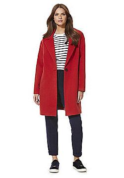 F&F Boyfriend Coat - Red
