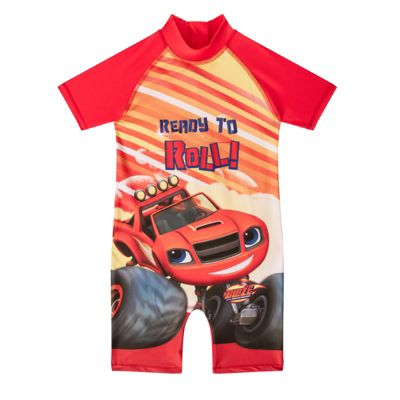 Blaze And The Monster Machines Boys Surf Suit Red 18-24 Months