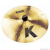 Zildjian K Dark Thin Crash Cymbal (18in)