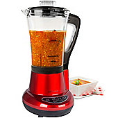 Andrew James Soup Maker & Blender - 7 in 1 Multifunctional Machine - Red