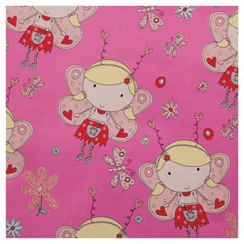 Tesco Fairy Wrapping Paper, 2m