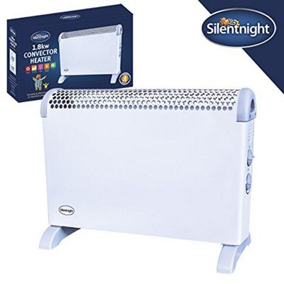 Silentnight Adjustable Temperature Convector Heater, 1800 Watt