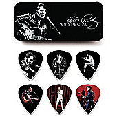Elvis Presley 68 Pick Tin, Medium - 6 Picks